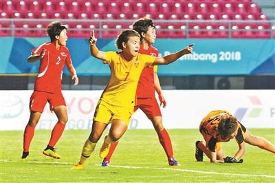 中国完胜朝鲜 八强将战泰国