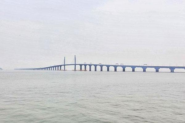 港珠澳大桥将实现珠海澳门与香港陆路对接