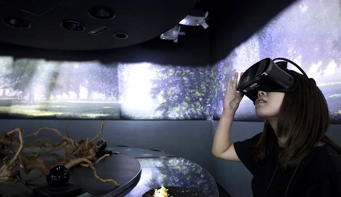 日本一餐厅融入虚拟现实:将用餐提升为六觉享受