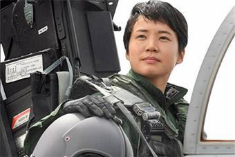日首位女战斗机飞行员登场 未来或对付中国军机