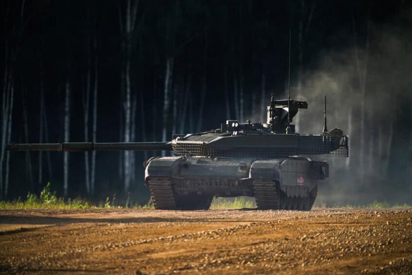 俄媒:中国军工企业对俄T-90M坦克表示关注