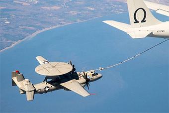 全球最强舰载预警机将具备空中加油能力