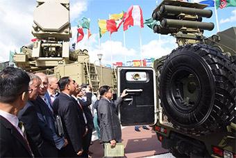 缅甸三军总司令赴俄参观军队2018军事论坛