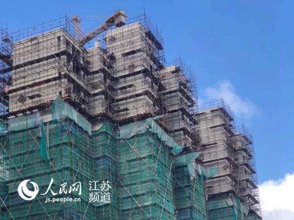 启东新城吾悦房产项目因质量问题被责令停工