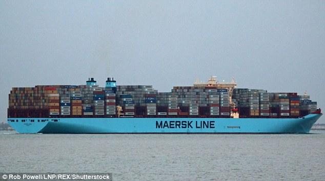 马士基首次试航北极航道 望开发更省时路线