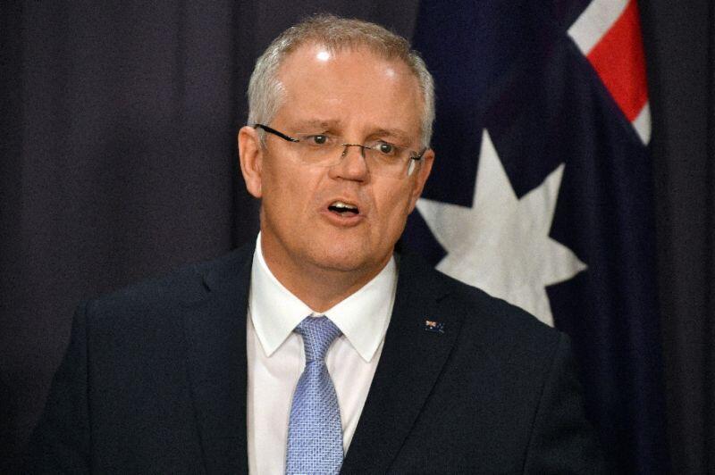 莫里森正式宣誓就任澳大利亚总理 承诺将团结国家和政党