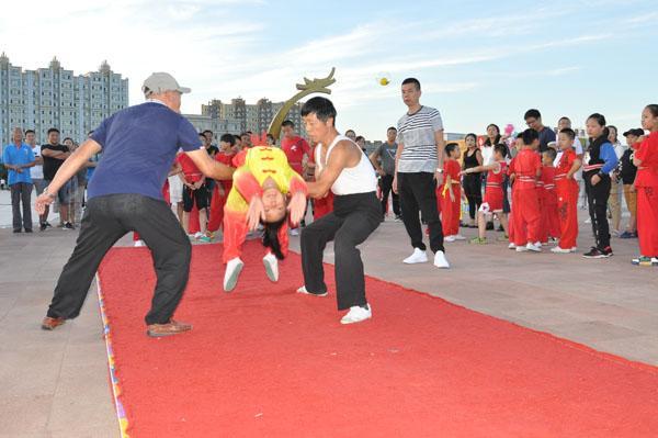 弘扬武术传统文化