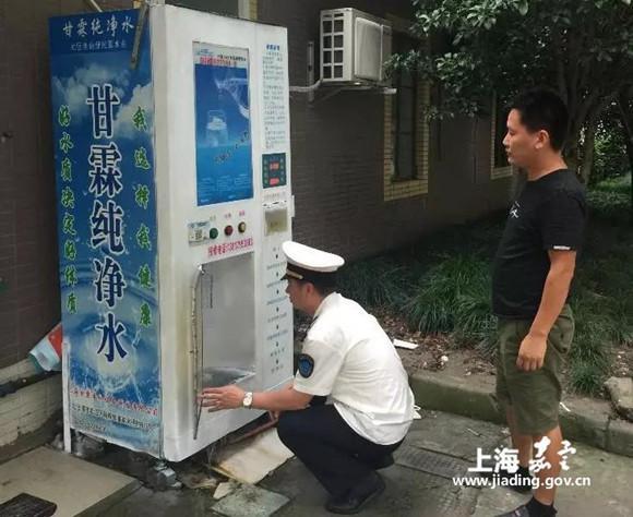 嘉定开展现制现售饮用水监督抽检工作