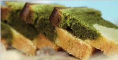 学做抹茶香草双色磅蛋糕