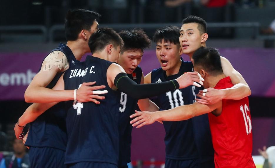 亚运中国男排3-1斯里兰卡 两胜一负小组第二出线