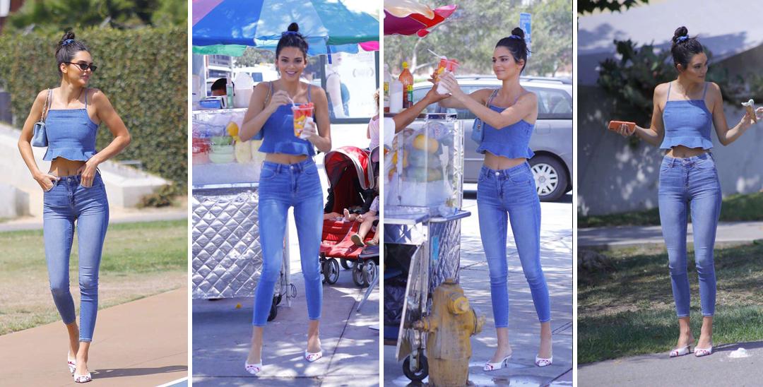 肯豆连路边买冰激凌都像是拍大片