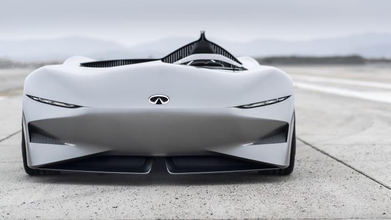 英菲尼迪Prototype 10概念车官图发布 全新设计语言前瞻