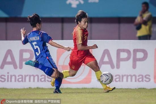 中国女足5-0泰国 半决赛中国女足将与中国台北对阵