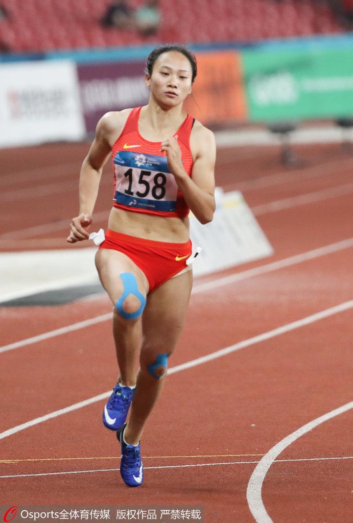 亚运女子400米黄瑰芬第5 男子400米卡塔尔人摘金