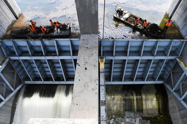 探访上山东寿光上游冶源水库:水位近堤坝
