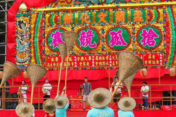 香港盂兰节传承中国文化