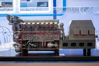 俄展示最新船用柴油机 未来将装备新型军舰