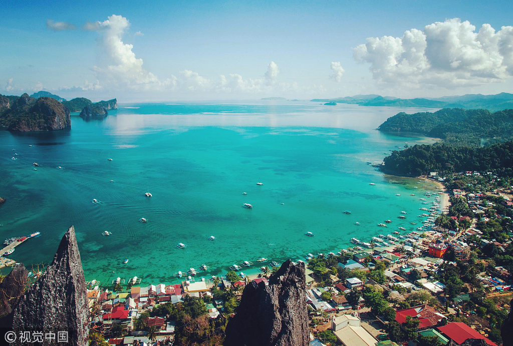 2018前7个月中国赴菲律宾游客增加40%