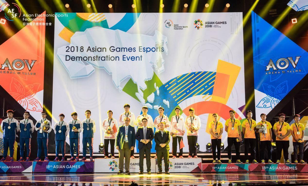 中国队获2018亚运会电竞首金 下一站直指奥运会?