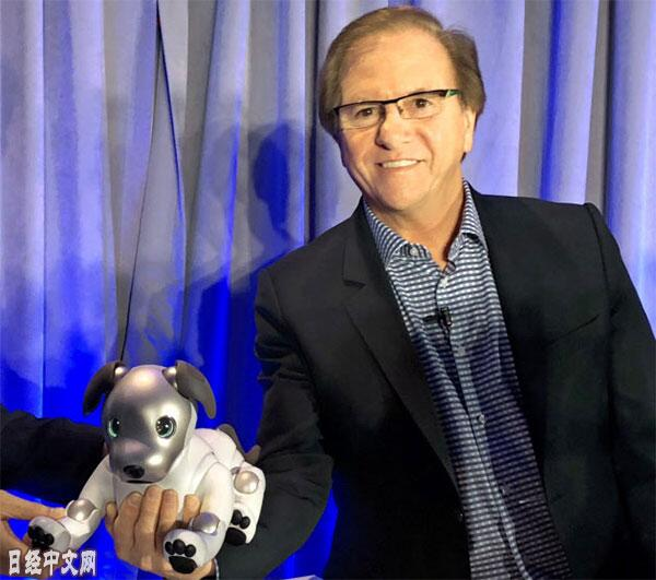 索尼AI家用机器狗Aibo将于9月在美发售