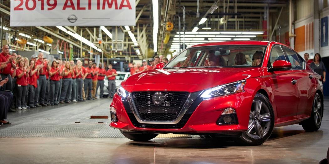 日产宣布投资1.7亿美元 升级Altima两大美国制造厂