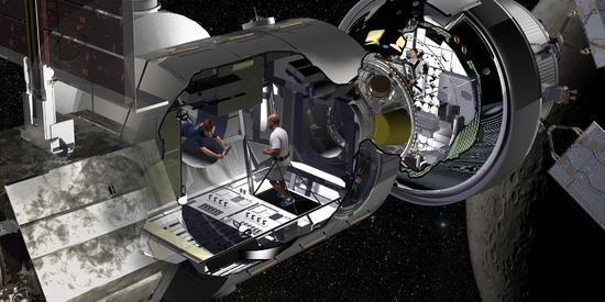 """美国想打造""""绕月太空旅店"""" 成火星之旅的中转站"""