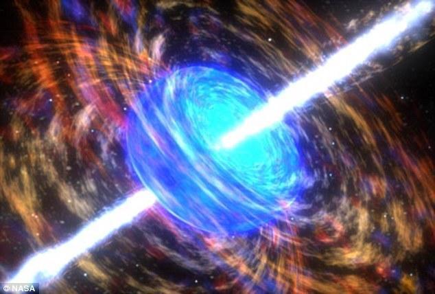 """科学家发现神秘伽马射线爆具有""""时间反转效应"""""""