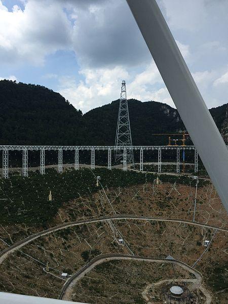 世界最大的射电望远镜变成旅游胜地