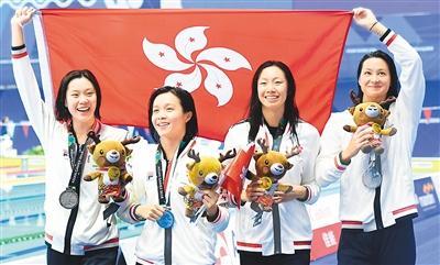中国香港队夺银