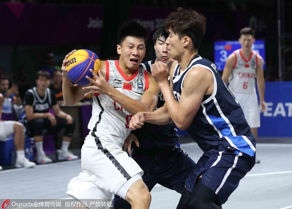 亚运3×3男篮-中国加时绝杀韩国夺冠 黄文威再立功