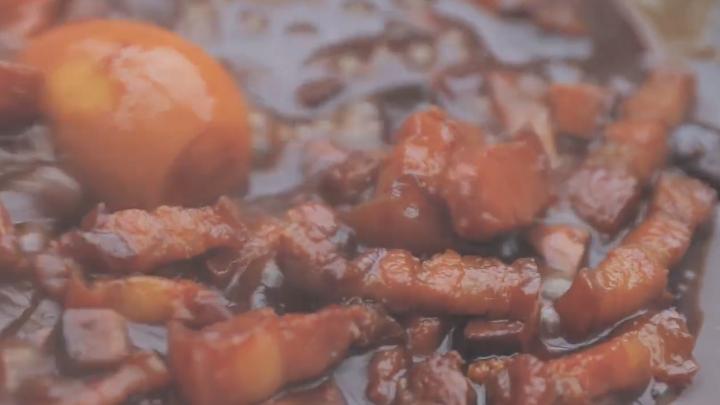 学习制作卤肉饭