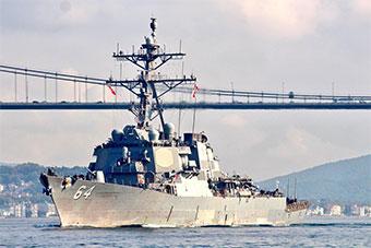 敲打俄土?美驱逐舰深入黑海15天后返回地中海