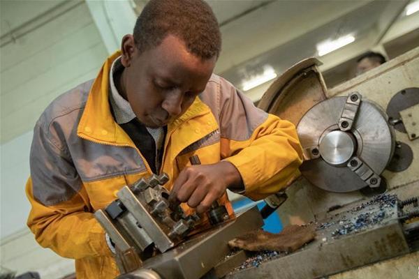 中国职业教育项目助非洲国家培养技术型人才