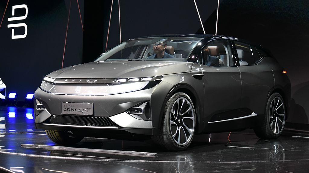 拜腾向美国运输原型车进行测试 疑将明年交付