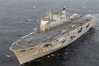 巴西兴奋迎接2万吨航母抵港 重回航母国家之列