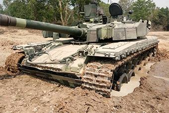 泰国堡垒M坦克已如此破旧 曾推动泰国购VT4