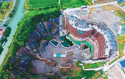 上海:废石深坑变五星酒店
