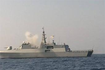 阿尔及利亚用德制护卫舰击沉苏联产靶舰