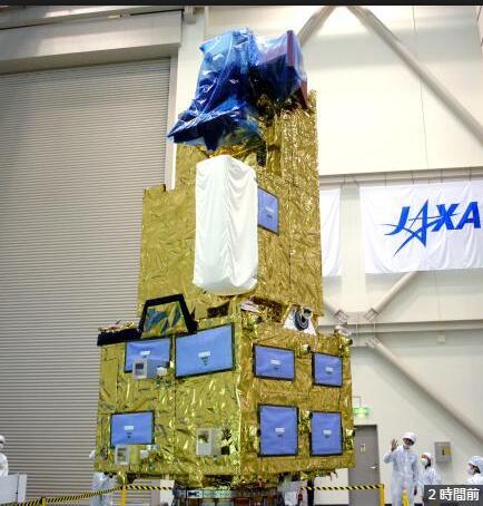 """日本计划于10月29日发射温室气体观测卫星""""息吹2号"""""""