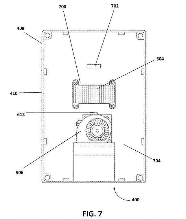 微软新专利:给移动计算设备降温的散热器