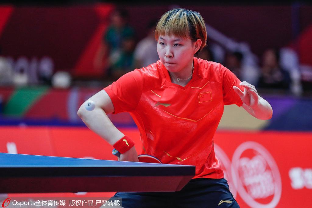 朱雨玲零封锁定胜局 中国女乒3-0横扫日本进四强