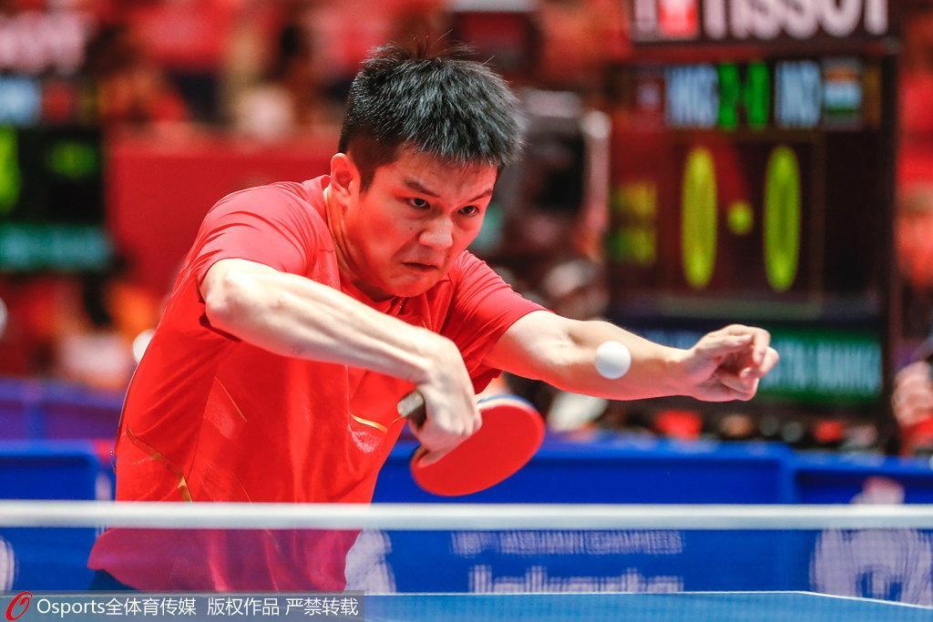 樊振东林高远横扫 中国男乒3-0中国香港进四强