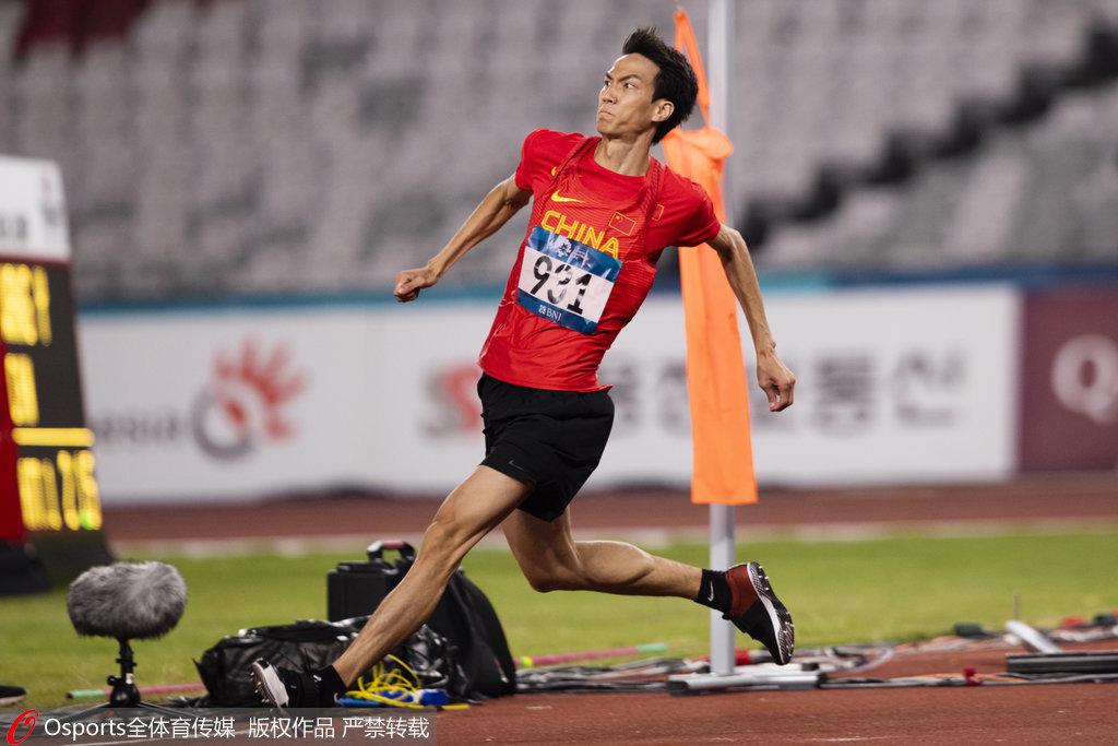 中国28年后再登顶!亚运男子跳高王宇摘得金牌