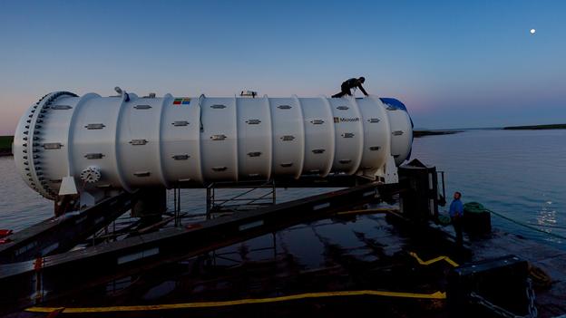AI监控微软海下数据中心设备 还能监测水下环境