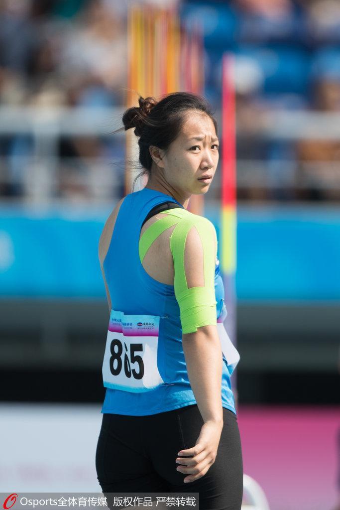 女子标枪中国揽金银牌 刘诗颖破亚运会纪录夺冠