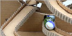 制作一个玻璃球跑步机