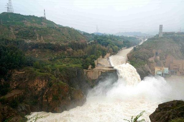 刘家峡水库排沙泄洪确保黄河中下游流域安全度汛