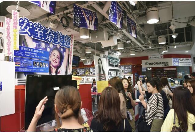 安室奈美惠告别演唱会唱片销量有望创最高记录