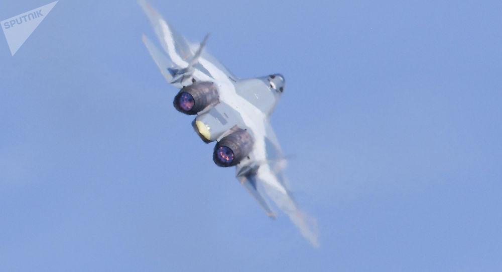 俄将完成苏57第五代战机与地面通信系统试验