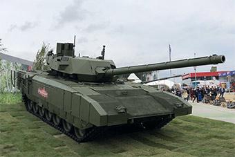 俄罗斯展示最新阿玛塔主战坦克